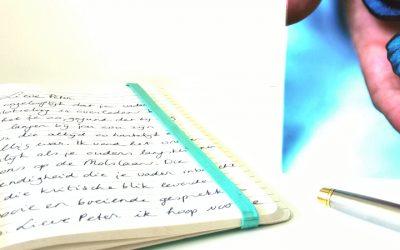 Kaart schrijven aan iemand die ongeneeslijk ziek is